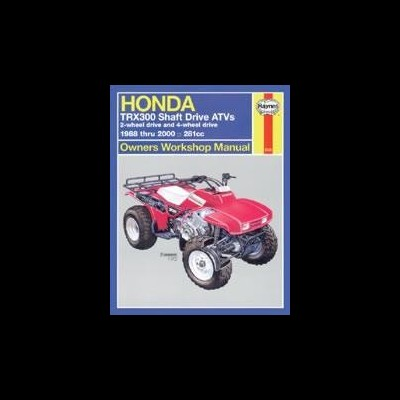 Honda TRX300 Shaft Drive 1988-2000