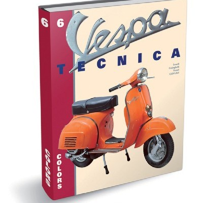 Vespa Tecnica 6 Colors 1946 al 1976