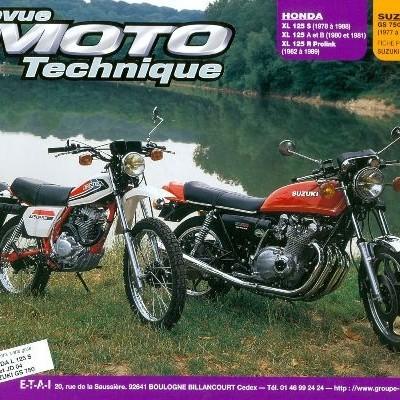 F034 Honda XL 125 S-XR-XLR/SuzukiI GS 750 D-E-N