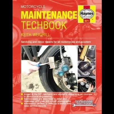 Motorcycle Maintenance TechBook Haynes Manual