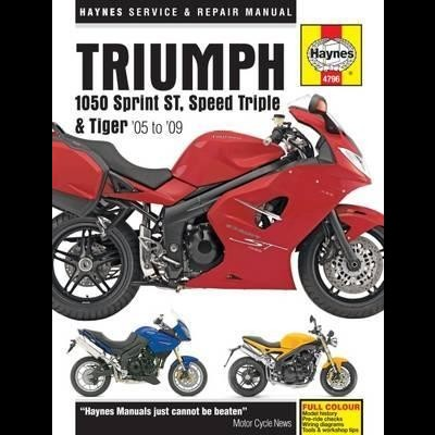 Triumph 1050 Sprint ST, Speed Triple & Tiger 05-13