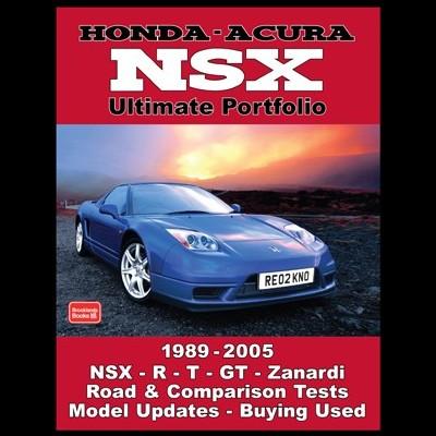 Honda-Acura NSX Ultimate Portfolio 1989-2005