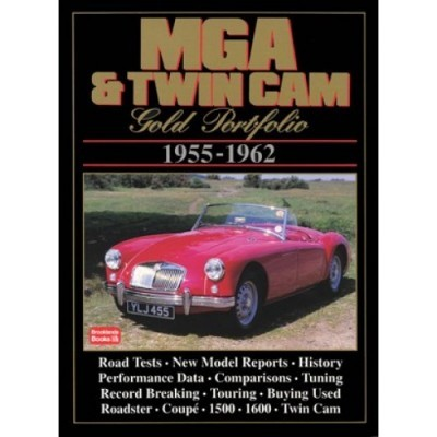 MG MGA & Twin Cam Gold Portfolio 1955-62
