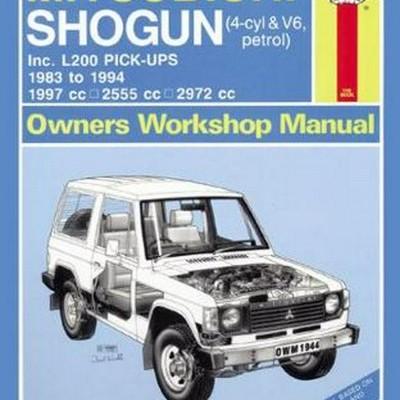 Mitsubishi Shogun/Pajero/Montero & L200 1983-94