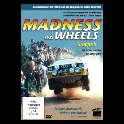 Madness on Wheels - Group B DVD
