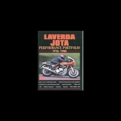 Laverda Jota Performance Portfolio 1976-85