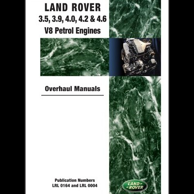 Land Rover 3.5,3.9,4.0,4.2,4.6 Petrol V8 Engine WM