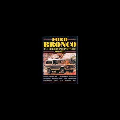Ford Bronco 4X4 Performance Portfolio 1966-77