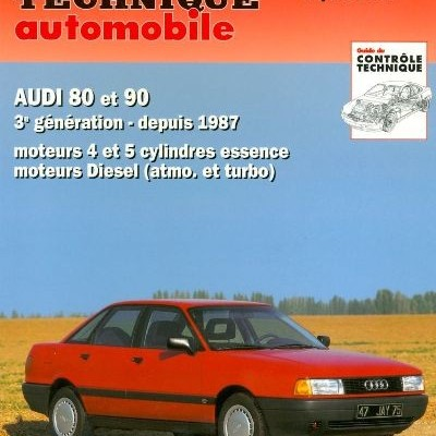 Audi 80-90 Gas/D/TD depuis 1987 ( RTA735)