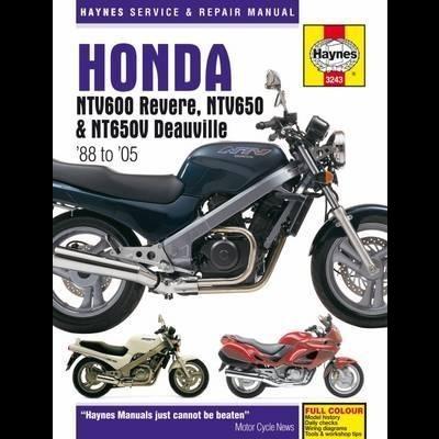 Honda NTV600 Revere, NTV650,NT650V Deauville 88-05