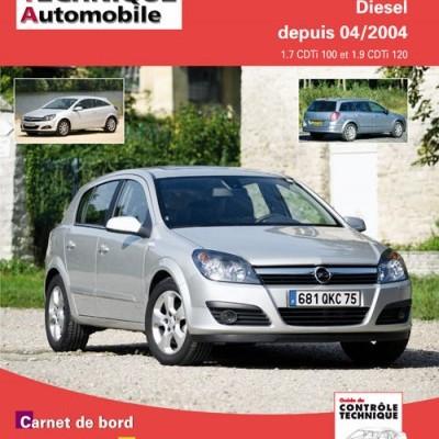 Opel Astra  1.7 CDTI, 1.9 CDTI 04/2004 (RTA699)