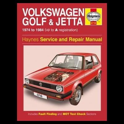 Volkswagen Golf & Jetta MK1 1.1 & 1.3 1974-84