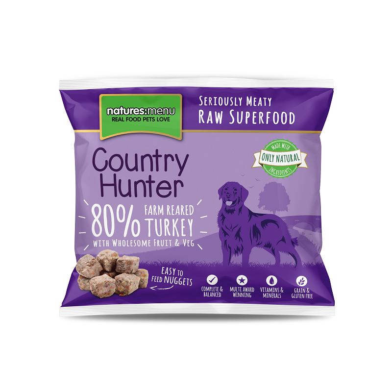 Country Hunter Cão / Nuggets congelados Peru / Sem Cereais