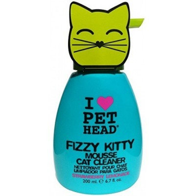 Pet Head Fizzy Kitty Mousse 190 ml