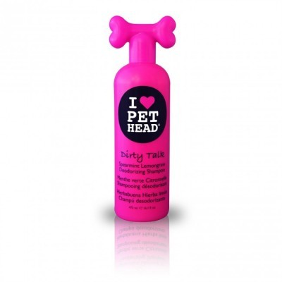 Pet Head Dirty Talk Shampoo para cães 475 ml