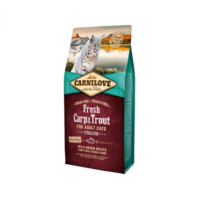 Adult Cat Sterilised Fresh Carp & Trout