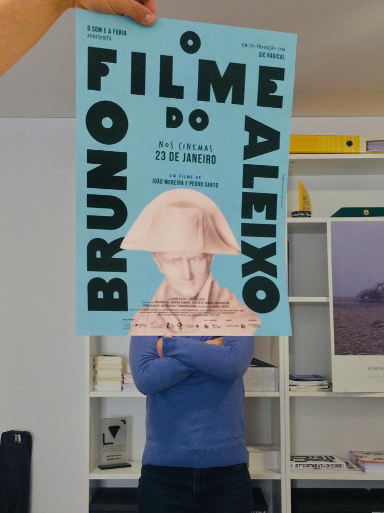 """Cartaz """"O Filme do Bruno Aleixo"""""""