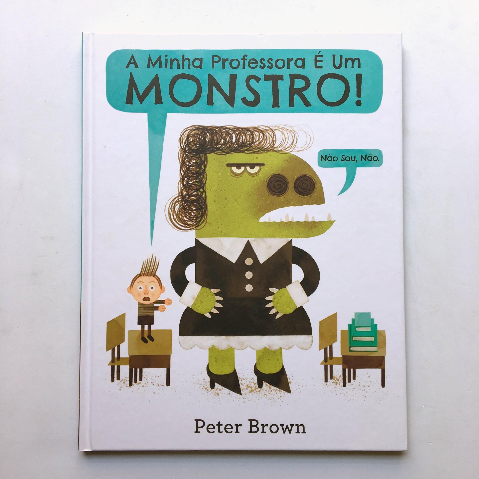 A Minha Professora é um Monstro! Não sou, não