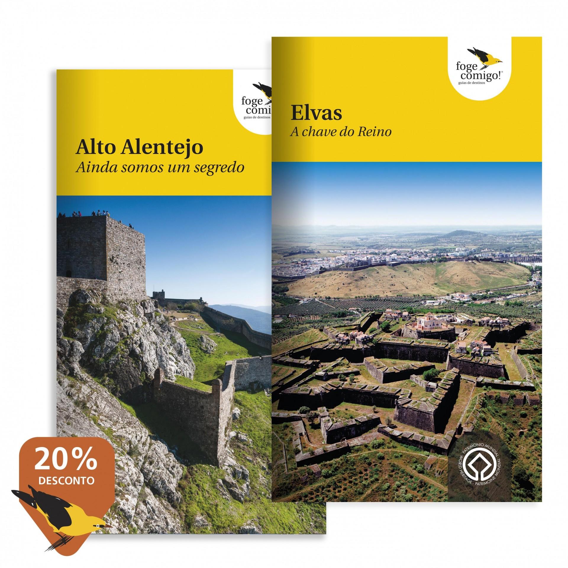 Guia Elvas + Guia Alto Alentejo (20% desc.)