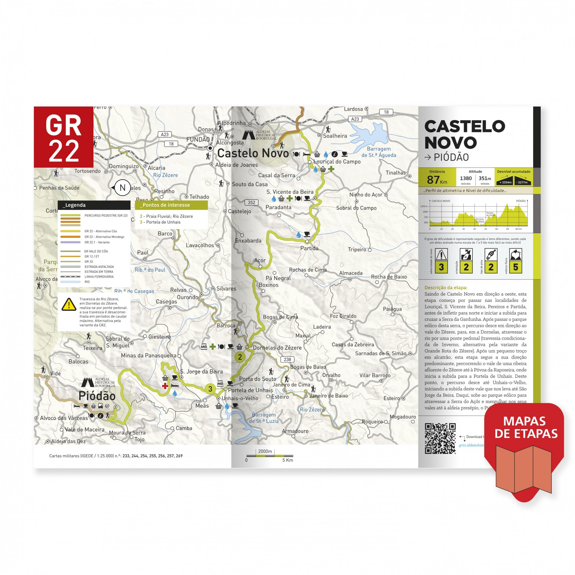 GR22 - Grande Rota das Aldeias Históricas de Portugal