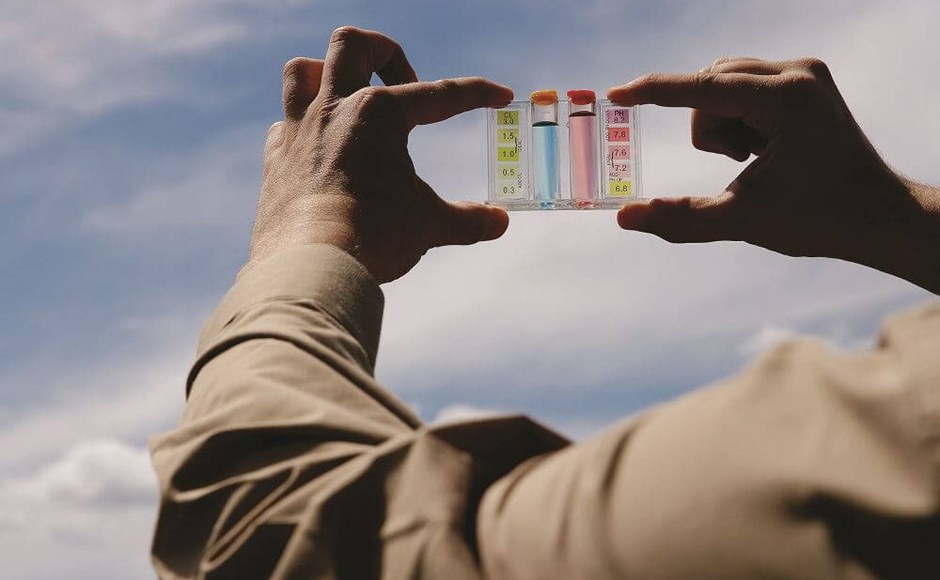 Como o pH e o TDS afetam a qualidade de água