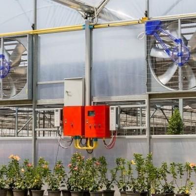 Manter a qualidade do ar da estufa com dispositivos de purificação de ar