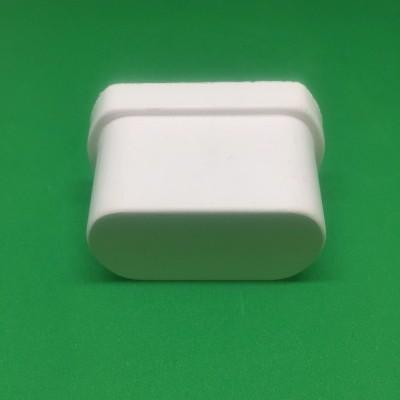 Tampão PVC amovível para perfil furado 49 mm