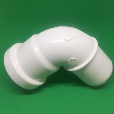Joelho PVC DIN Branco 90º Ø40mm