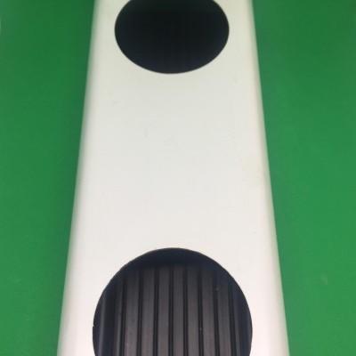 2 metros Perfil Hidropónico PVC Furado de 80 mm