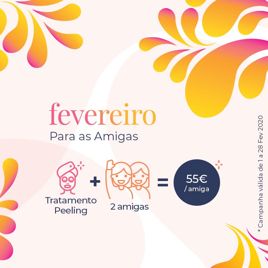 Peeling + 2 amigas= 55€/ Amiga