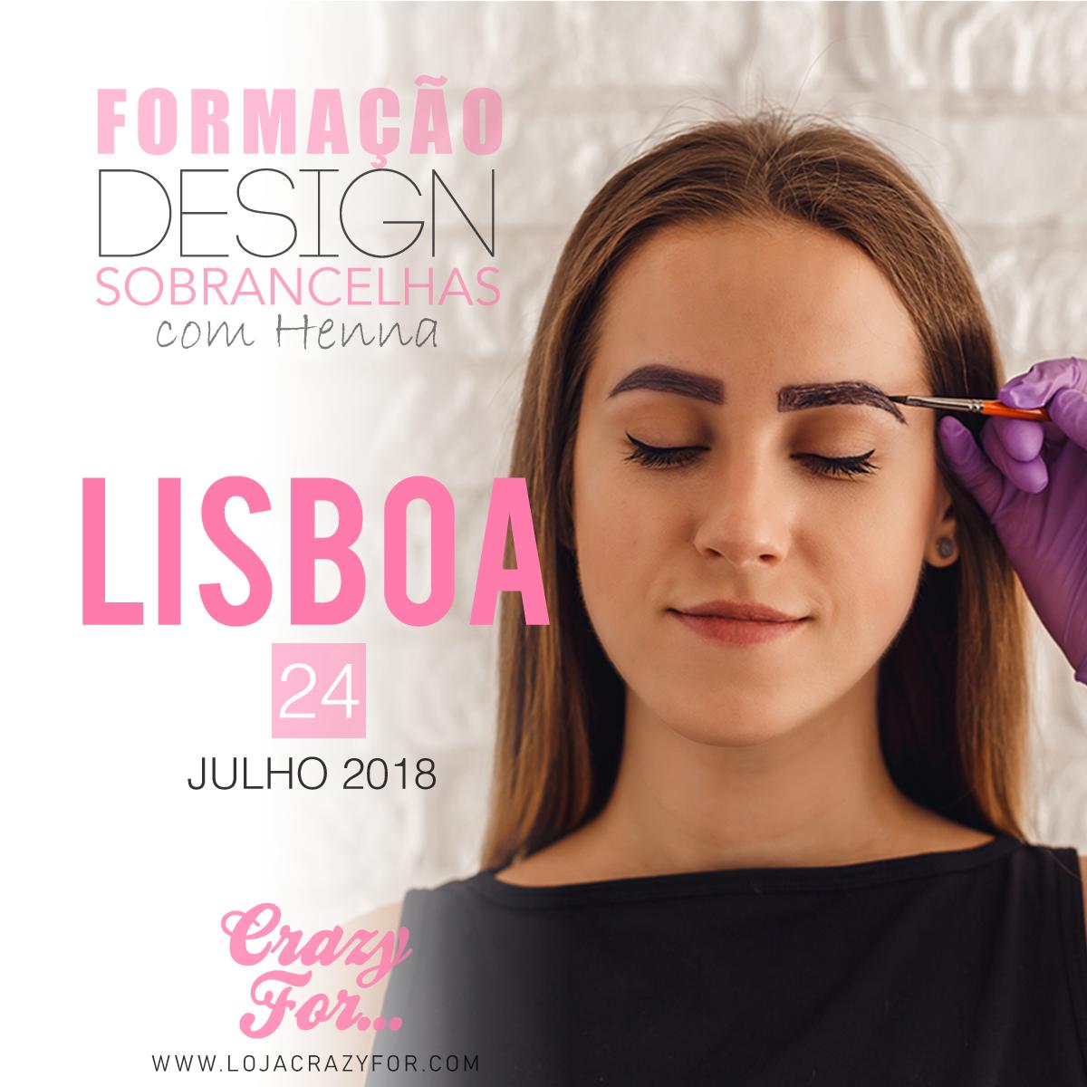 Formação Certificada de Design de Sobrancelha com Henna