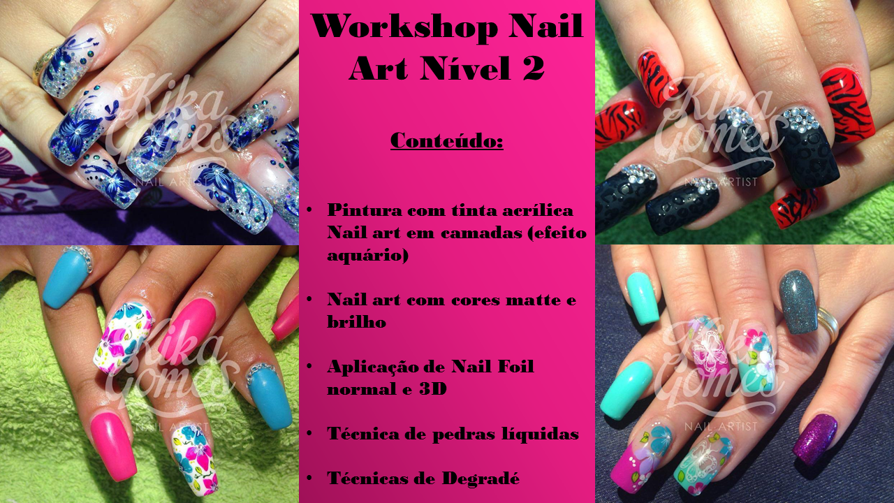 Workshop de Nail Art Nível II