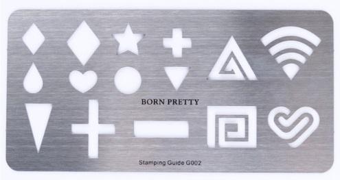 Stencil de formatos