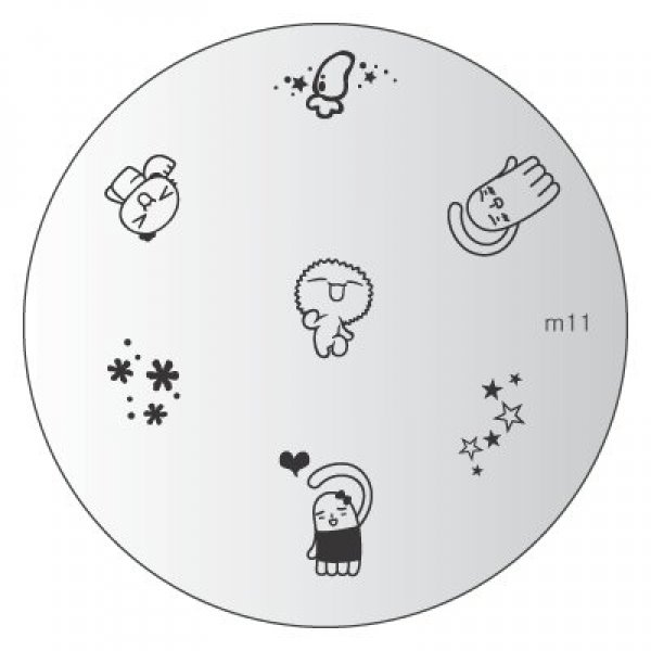 Placa Konad M011