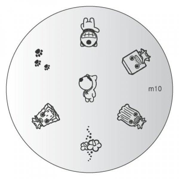 Placa Konad M010