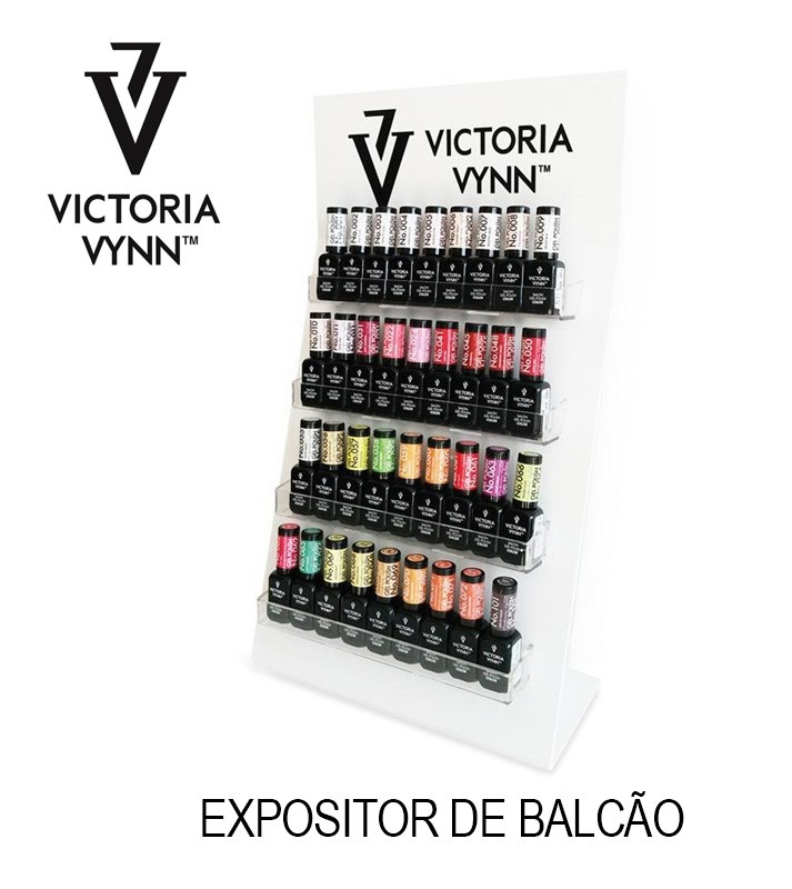 Expositor de balcão Victoria Vynn