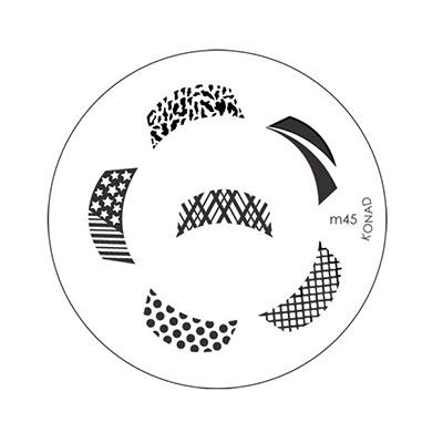 Placa Konad M045