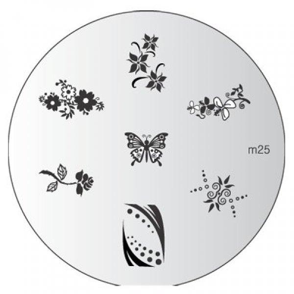 Placa Konad M025