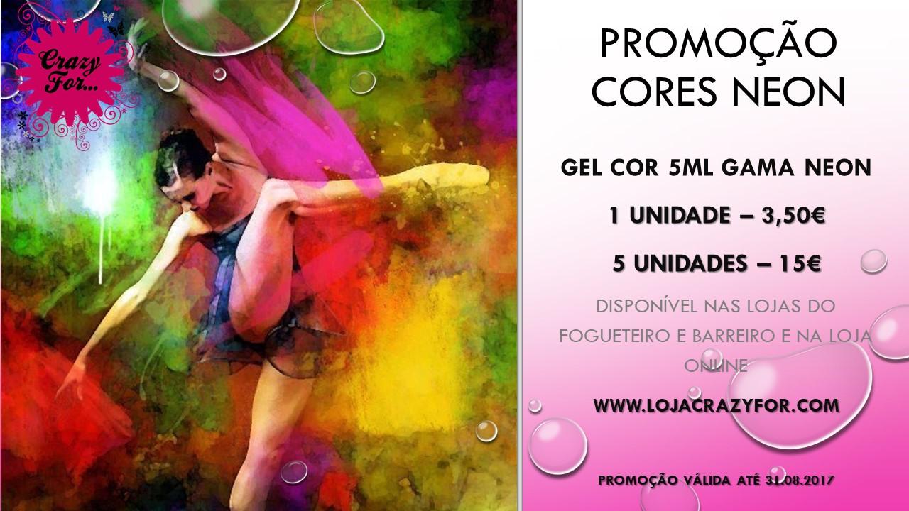 PROMOÇÃO!! Gel cor Neon!!