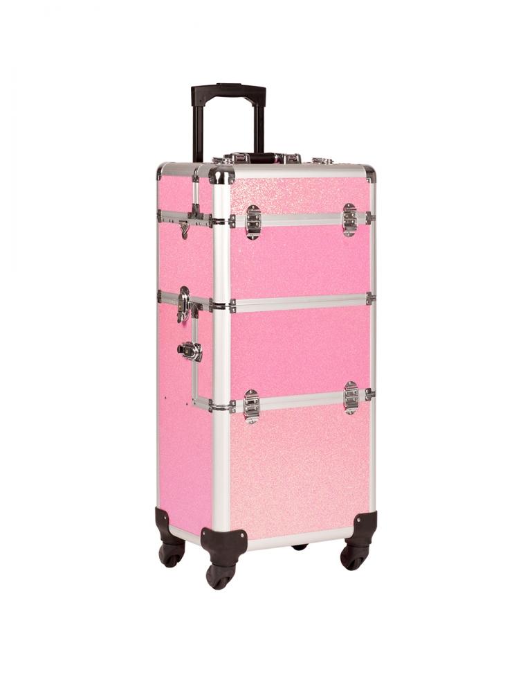 Trolley de Transporte Pink Glitter
