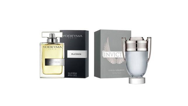 Perfume Platinum (equiv. Invictus - Paco Rabanne)