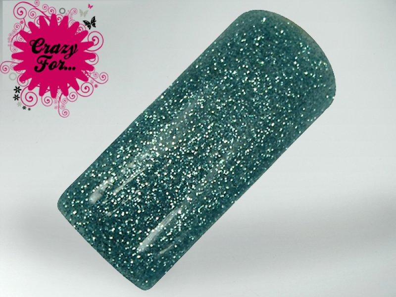 Verniz Gel V081 - Glitter Turquesa