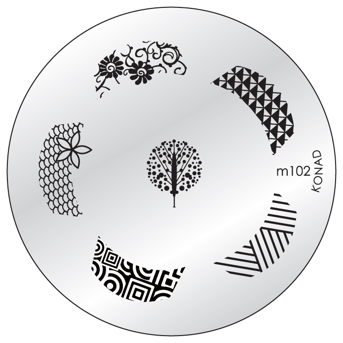 Placa Konad M102