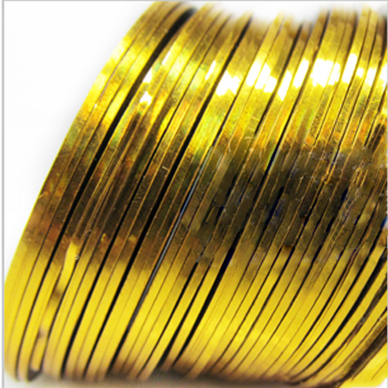 Fita Autocolante Dourada