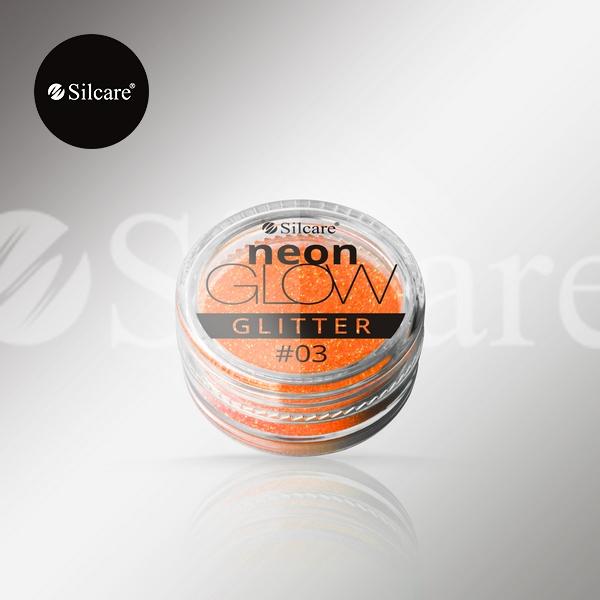 Glitter - Efeito Sereia Neon Orange