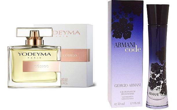Perfume Dauro for Her (equiv. Code for Her - Giorgio Armani)