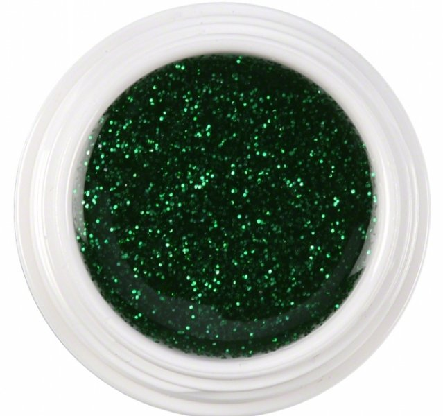 Gel Cor 5ml - Glitter Green