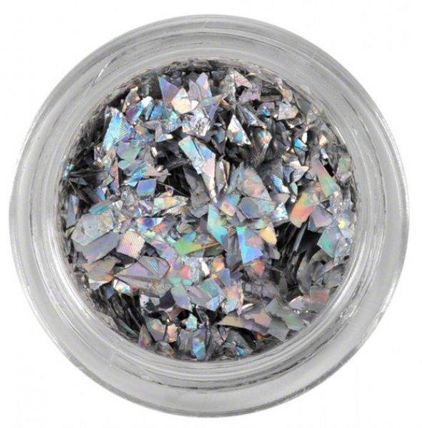 Papel prata em pedaços n.º03