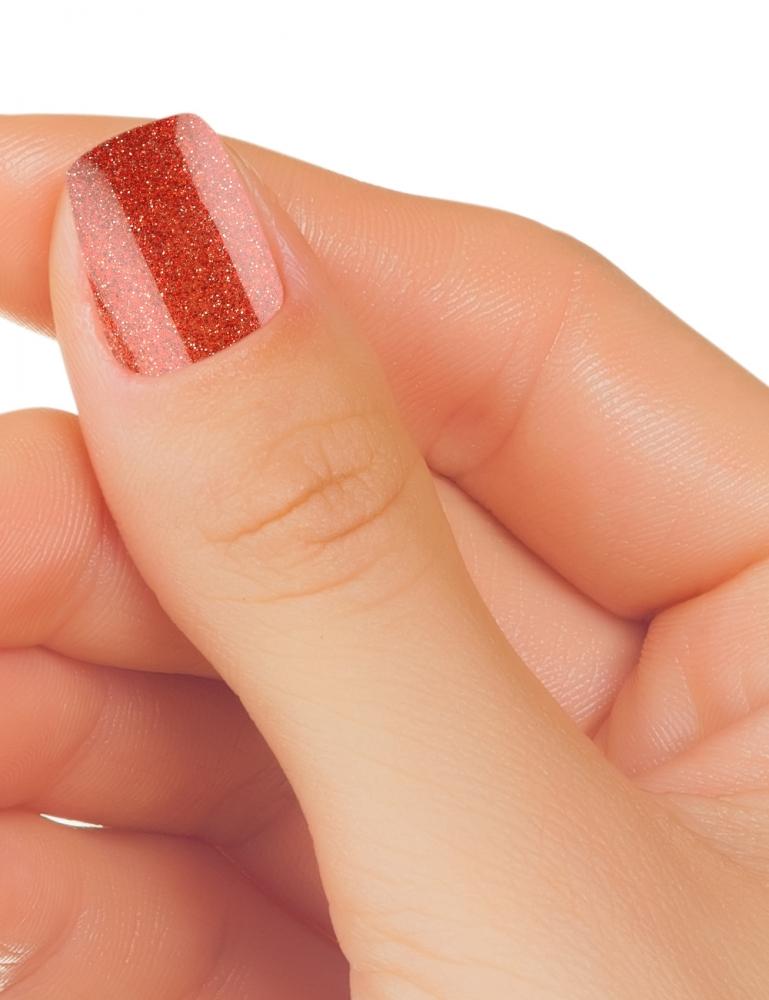 Verniz Gel V145 - Glitter Red