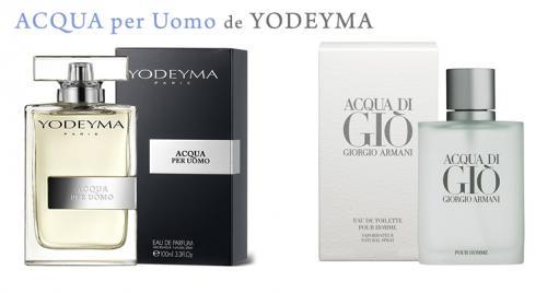 Perfume Acqua per Uomo (equiv. Acqua di Giò - Giorgio Armani)